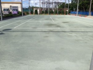 テニスコート(クレー)